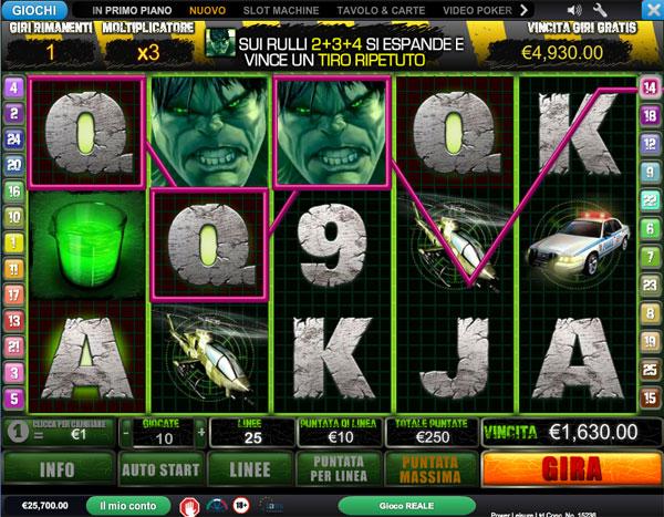 slot machine online gratis italiane